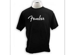Fender T-Shirt Spaghetti Logo XXL