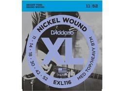 Daddario EXL116 Nickel Wound .011-.052