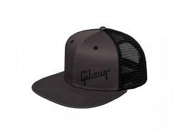 Gibson Trucker Snapback Cap Grey
