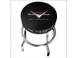 "FENDER Bar Stool 24"" Custom Shop Pinstripe Design"
