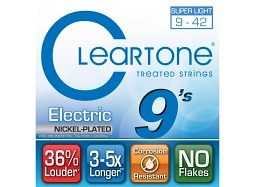 Cleartone EMP Coated Electric Guitar Strings 9409 Super Light 9-42
