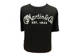 Martin T-Shirt Classic Solid Logo Black XL