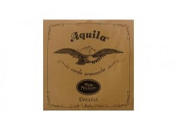 Aquila 4U - New Nylgut Ukulele String Set, Soprano, high-G