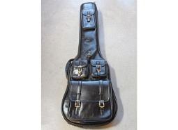 SMT Bass Guitar Soft Case Leather Like Black