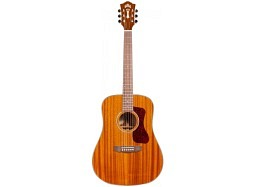 Guild Bundle D-120E Natural Mahagoni-Mahagoni vollmassiv
