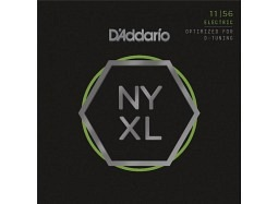 DADDARIO NYXL 1156 Nickel Round Wound .011-.056  (optimized for DROP-D) Med.Top/Extra Heavy Bottom