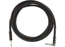 Fender Professional Instrument Cable 3m straight-angle
