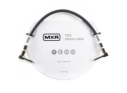 MXR TRS Stereo Cable 30cm Right Angle-Right Angle