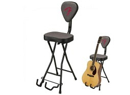 Fender 351 Seat - Stand Combo grey black F-Red Logo
