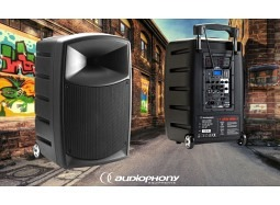 AUDIOPHONY CR25A mobiles Stereo PA-System