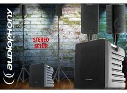 AUDIOPHONY Mojo1042APP Stereo PA-System