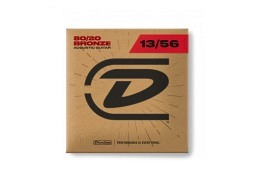 Dunlop 80/20 BRONZE ACOUSTIC GUITAR STRINGS 13-56