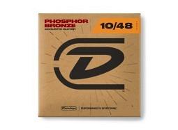 Dunlop PHOSPHOR BRONZE ACOUSTIC GUITAR STRINGS 10-48