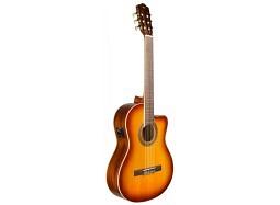 Cordoba Bundle C5 CE Klassikgitarre mit Tonabnehmer Fichte-Mahagoni - Sunburst