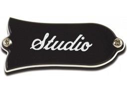 GIBSON Truss Rod Cover Studio Black