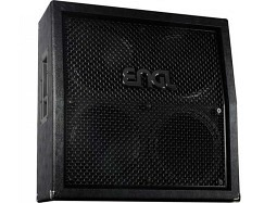 ENGL E412VsB Pro Cabinet 120W Black slanted